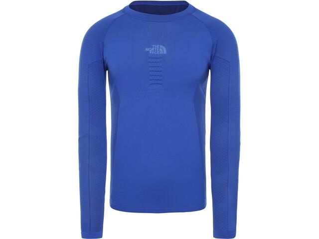 The North Face Active T-shirt manches longues à col ras du cou Homme, tnf blue